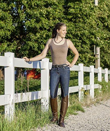 USG Damen Jeans Reithose Mira, Vollbesatz, 42