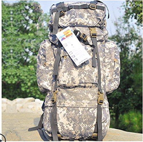 BUSL Outdoor-Klettern Tasche Rucksack 65L große Kapazität Rucksack Tasche Gepäck c