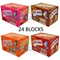 4 X Suet To Go 6 Packs 300g Blocks 4 Flavours High Energy Wild Bird Garden Feed Suet Blocks Mixed Variety by UNIPET