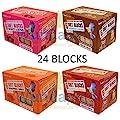 4 X Suet To Go 6 Packs 300g Blocks 4 Flavours High Energy Wild Bird Garden Feed Suet Blocks Mixed Variety by UNIPET