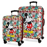 Disney Posters Luggage Set, 69 cm, 108 liters, Multicolour (Multicolor)