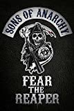 empireposter - Sons of Anarchy - Fear the reaper - Größe (cm), ca. 61x91,5 - Poster, NEU -