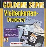 Goldene Serie. Visitenkarten- Druckerei. 3 1/2'- Diskette