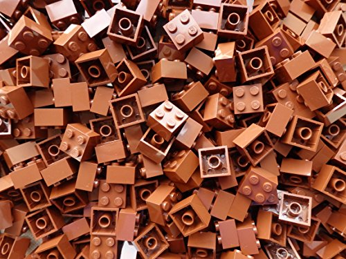 LEGO Bricks: Brown 2x2. Part 3003 (X 50) by LEGO (Lego Star Wars Sets $50)
