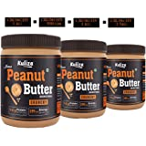 Kuliza All Natural Peanut Butter Crunchy (Unsweetened, Non-GMO, Gluten Free, Vegan) (2.5 KG)