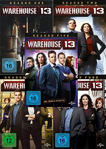 Seasons 1-5 (16 DVDs)