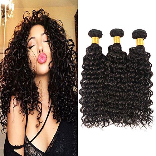 Brasilianisches echthaar tiefe Welle Bündel 7a unverarbeitetes tief lockiges Jungfrau Haar Stücke dickes 300g Haar Schuß 12 14 16 zoll für Frauen -