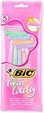 Bic Twin Lady Razors - Pack of 5