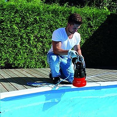 Einhell Tauchpumpe GC-SP 3580 LL (350 W, 8000 L/h, max. Förderhöhe 7,5 m, Stufenlos einstellbarer Schwimmerschalter, Kabelaufwicklung)