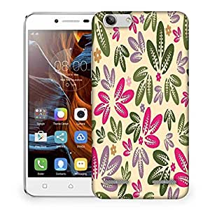 Snoogg seamless floral pattern abstract background Designer Protective Back Case Cover For Lenovo K5 Vibe