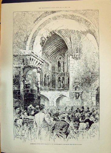 Vereinigte Service Institution 1893 Querschiff Bartholomews-Kirchen-Prinz-Wales