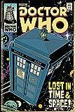 Doctor Who Poster Tardis Comic (61cm x 91,5cm)