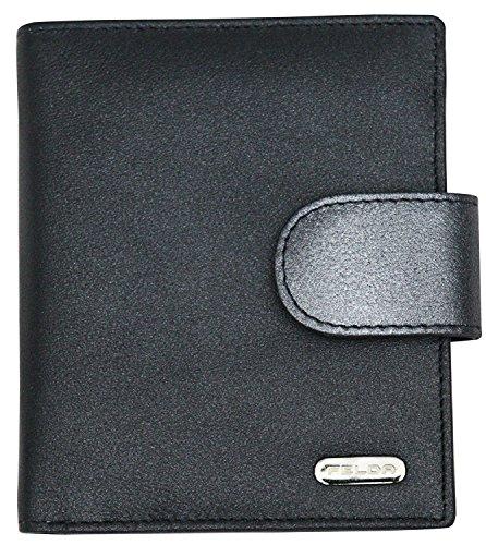 Multi-farbigen Damen-handtaschen (Felda , Leder Damen Geldbörse Portemonnaie Purse Geldbeutel mit RFID Blockierung Multicolor Blau Metallic Multi)