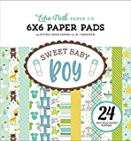 ECHO PARK Paper Company Sweet Baby Boy 6 x 6 Papier Pad