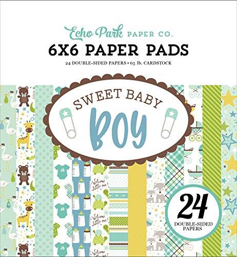 Echo Park Paper Company Sweet Baby Boy 6x 6Papier Pad
