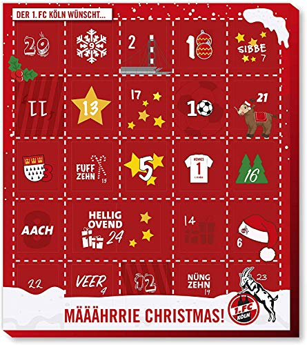 Fan-Shop Sweets 1. FC Köln Premium Adventskalender 2019 (one Size, Multi)