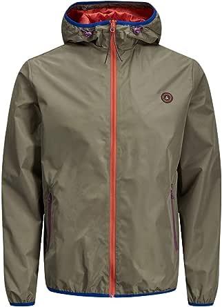 Jack & Jones Mens Hoodies Lightweight Full Zip Long Sleevs Casual Jacket Sports Coat Outerwear