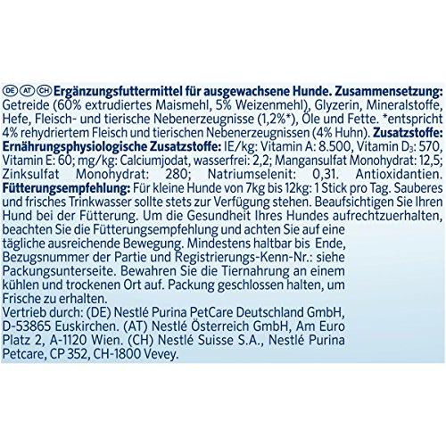 Purina DentaLife Mini Tägliche Zahnpflege-Snacks für kleine Hunde, 5er Pack (5 x 115 g) - 4