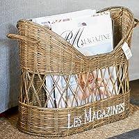 Riviera Maison - Rustic Rattan - Zeitschriftenständer, Zeitungsständer - Les Magazines