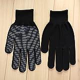 Fenghong Driving Packing Fishing Rutschfeste Kunststoffhandschuhe, Schwarze Handschuhe rutschfestes staubfreies Nylon