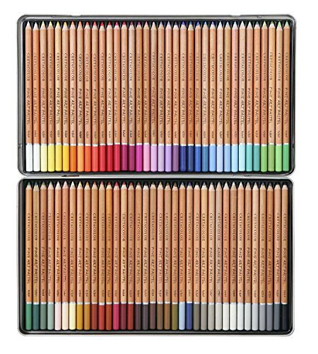Cretacolor Fine Art Pastel Pencil -Tin Box Set Of 72