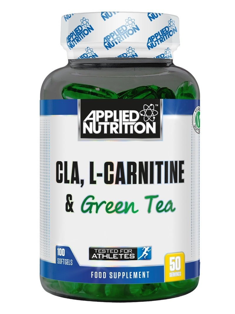Applied Nutrition CLA L Carnitine & Green Tea Natural Energy Fat Burning Blend Help Weight Management (Conjugated…
