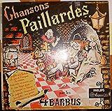Chansons paillardes (par les 4 Barbus) - disque vinyle 33 tours 25 cm