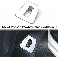 Colore : 1 NO LOGO Aria condizionata manopola Decorativo in Forma di Copertura for Volkswagen VW Tiguan 2019 2018 Interni Cornici rimontare Accessori Auto Styling