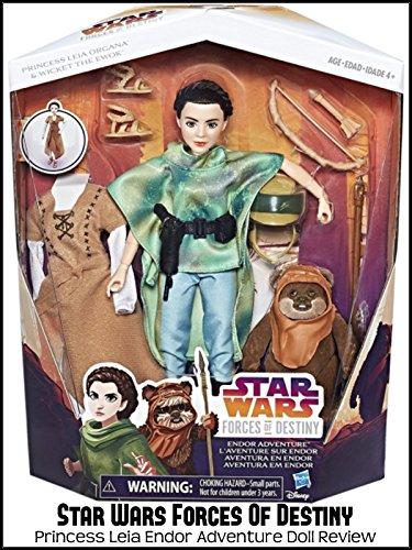Review: Star Wars Forces Of Destiny Princess Leia Endor Adventure Doll Review [OV]