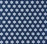 Herz Stoffe Österreich 1 m Gütermann Jersey Sterne blau