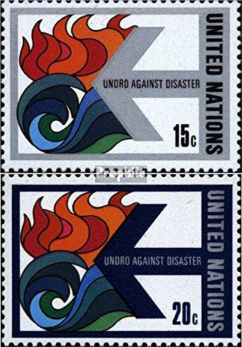 Prophila Collection UNO - New York 332-333 (kompl.Ausg.) 1979 Katastrophenhilfe (Briefmarken für Sammler)