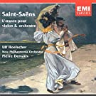 Saint-Saëns: Complete Works for Violin and Orchestra