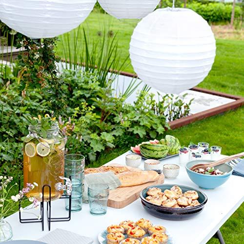 Vanage Gartentisch aus Kunststoff - 5
