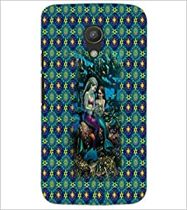 PrintDhaba Mermaids D-5703 Back Case Cover for MOTOROLA MOTO G2 (Multi-Coloured)