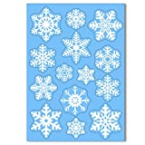 42 Original Snowflake Window Clings by Articlings - Fabulous Static PVC Stickers from Articlings