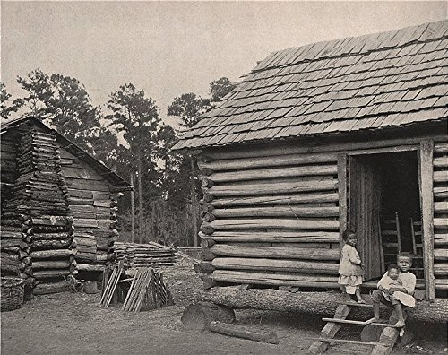 negro-huts-thomasville-georgia-1895-old-antique-vintage-print-art-picture-prints-of-georgia-us