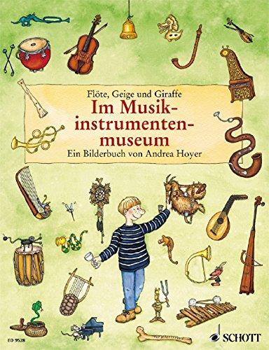 Im Musikinstrumentenmuseum: Flöte, Geige und Giraffe (Jugend-giraffe)