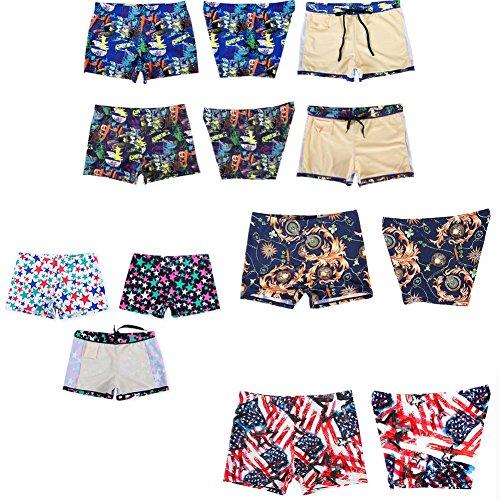 Bunte Schwimmhosen Schwimmen Strumpfhosen Kurze Schwimmkörbe für Männer mutlicolor4