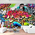 Fototapete Graffiti - Vliestapete - Wandtapete - Vlies Phototapete - Wand - Wandbilder XXL - !!! 100% MADE IN GERMANY !!! Runa Tapete 9065aP