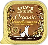 Lily's Kitchen Organic Chicken & Spelt Supper Complete Wet Food for Dogs 150g (Pack of 11)