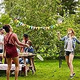 relaxdays gartenbank metall party im garten