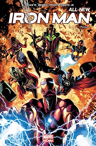 All-new Iron-Man T02 par Mike Deodato Jr.