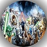 Fondant Tortenaufleger Tortenbild Geburtstag Star Wars T37
