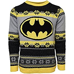 Official Batman Christmas Jumper / Ugly Sweater- UK M / US S
