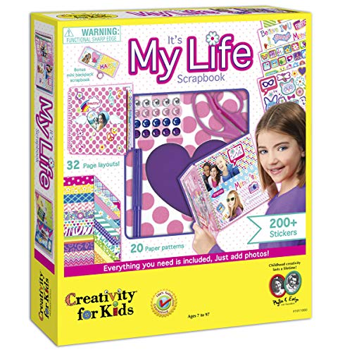 Creativity Kids Its Life Scrapbook