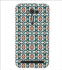 PrintDhaba Pattern D-5452 Back Case Cover for ASUS ZENFONE 2 LASER ZE550KL (Multi-Coloured)