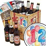 Geschenk zum 12.   Ostdeutsche Biere   Biergeschenk