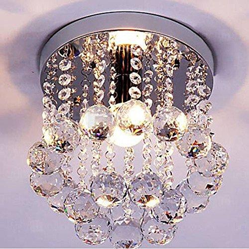 Dellemade Mini Stil Kristall kronleuchter Modern Deckenleuchte Für Treppenhaus, Bar, Küche, Esszimmer, Kinderzimmer -