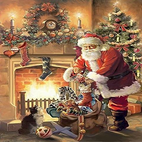 Bazaar Weihnachtsfeier Fahne Indoor Outdoor Home Decor Weihnachten Winter Happy Santa Claus Gartenfahne