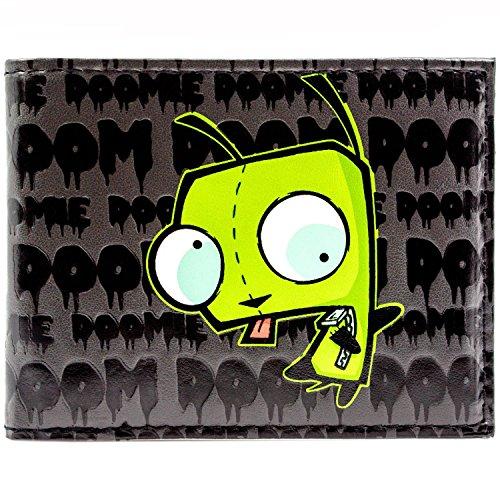 Nickelodeon Invader Zim Drohendes Schicksal Schwarz Portemonnaie (Schicksal Kostüme Kind)